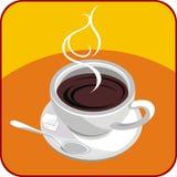 Heet koffie of T-stuk Royalty-vrije Stock Foto's