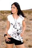 Heet Latina. stock foto
