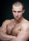 Heet mannelijk model Stock Foto
