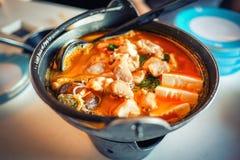 Heet voedsel in Singapore Royalty-vrije Stock Afbeeldingen