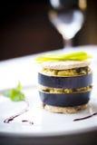 Heet voorgerecht van aubergine door ZVEREVA Royalty-vrije Stock Fotografie