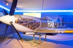 Heethoofdvliegtuig Royalty-vrije Stock Afbeeldingen