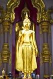 Hef het standbeeld van handenBoedha op Royalty-vrije Stock Foto's