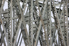 The Hef Lift Bridge Closeup Details in Rotterdam Stock Photos