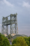 The Hef Lift Bridge in Rotterdam Stock Photography