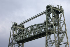 The Hef Lift Bridge in Rotterdam Stock Photos