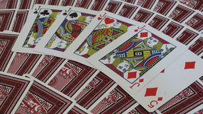 Hefbomen n& x27; Vijf Royalty-vrije Stock Fotografie