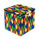 Hefboom-in-de-doos stuk speelgoed Stock Fotografie