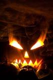 Hefboom-o-lantaarn in rook Royalty-vrije Stock Fotografie