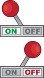 Hefboom weg vector illustratie