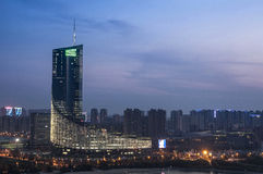 Hefei city building. Eastphoto, tukuchina, Hefei city building, City Landmark, China stock photography