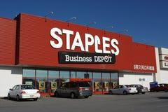 Heftet das Geschäfts-Depot Stockfotos