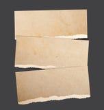 Heftige Papierfahnen Stockbild