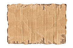 Heftige Pappe Stockbild