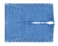 Heftiger alter Blue Jeans-Hintergrund Lizenzfreie Stockfotografie