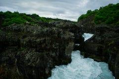 Heftiger Fluss Stockfotografie