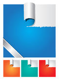 Heftiger Papiervektor vektor abbildung