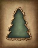 Heftiger Papierweihnachtsbaum stock abbildung