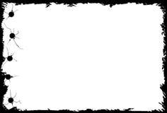 Heftiges gelochtes Papier stock abbildung