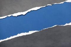 Heftiges Papier mit Platz für die Anmerkung Lizenzfreie Stockbilder