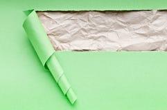 Heftiges Papier mit Platz für Meldung lizenzfreie stockfotografie