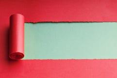 Heftiges Papier mit Platz für Meldung lizenzfreie stockbilder