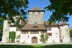 Hegi Castle / Schloss Hegi. Hegi castle (locally known as Schloss Hegi) is an heritage site of national significance. It is located in the city of Winterthur stock image