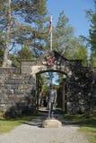 Hegra Fortress Norway Stock Photo