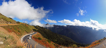 Hehuan Mountain, Taiwan Famous Landscape Stock Photo