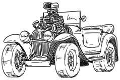 Heiß-Stangenauto Stockfotos