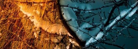 Heiß und kalt Stockfotografie