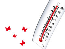 Heiß wärmen Sie 2 Stockfotografie