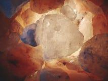 Heiße Felsen Stockfoto