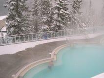 Heiße Frühlings-Pool Stockfoto