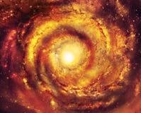 Heiße Galaxie - Elemente dieses Bildes geliefert von der NASA Lizenzfreie Stockfotos