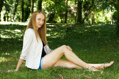 Heiße junge Frau stockfotos