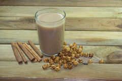 Heiße köstliche Getränke zu Boza Stockfoto