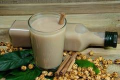 Heiße köstliche Getränke zu Boza Lizenzfreie Stockfotografie