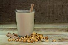 Heiße köstliche Getränke zu Boza Lizenzfreies Stockfoto