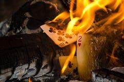 Heiße Karten Stockfoto