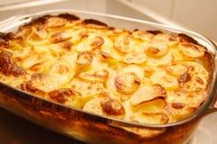 Heiße Kartoffeln Stockfotos