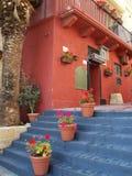 heiße Mittelmeerfarben Stockfoto