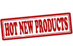 Heiße neue Produkte lizenzfreie abbildung