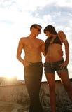 Heiße Paare Lizenzfreie Stockfotos