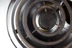 Heiße Platten-Ringe Stockfoto