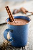 Heiße Schokolade stockbilder