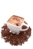 Heiße Schokolade lizenzfreie stockfotos