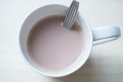 Heiße Schokolade stockbild
