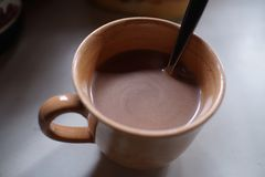 Heiße Schokolade Lizenzfreies Stockfoto