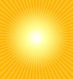 Heiße Sommersonne Lizenzfreie Stockfotografie
